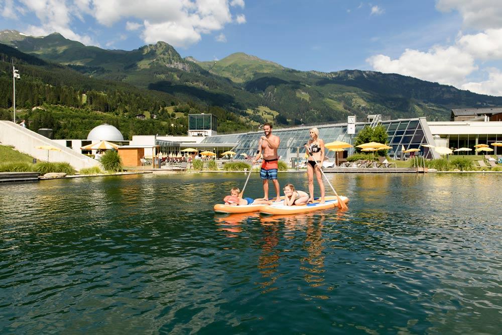 Thermalwasser Badesseen Alpentherme