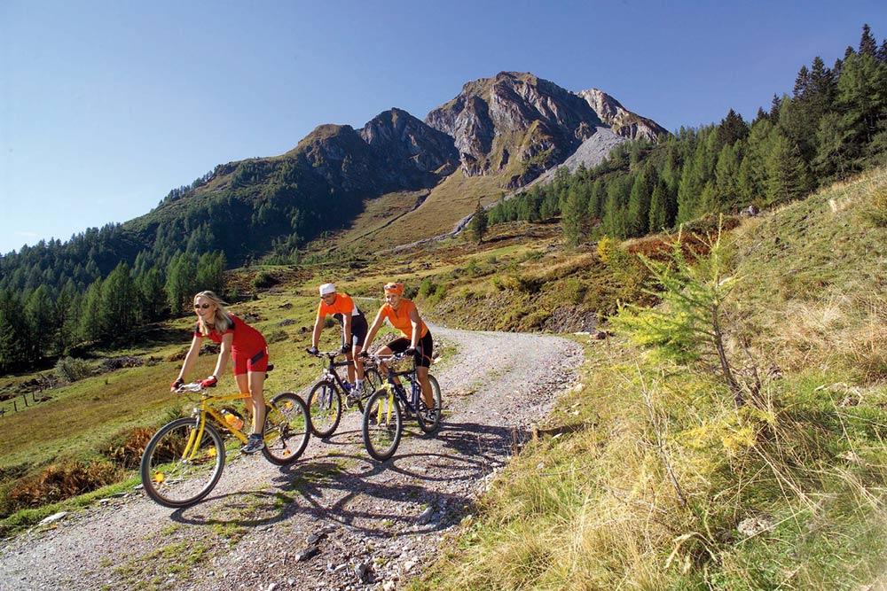 Radfahren und Biken in Gastein