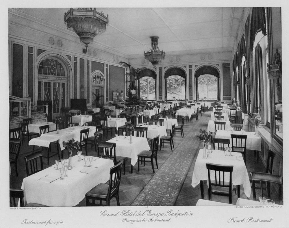 Französisches Restaurant