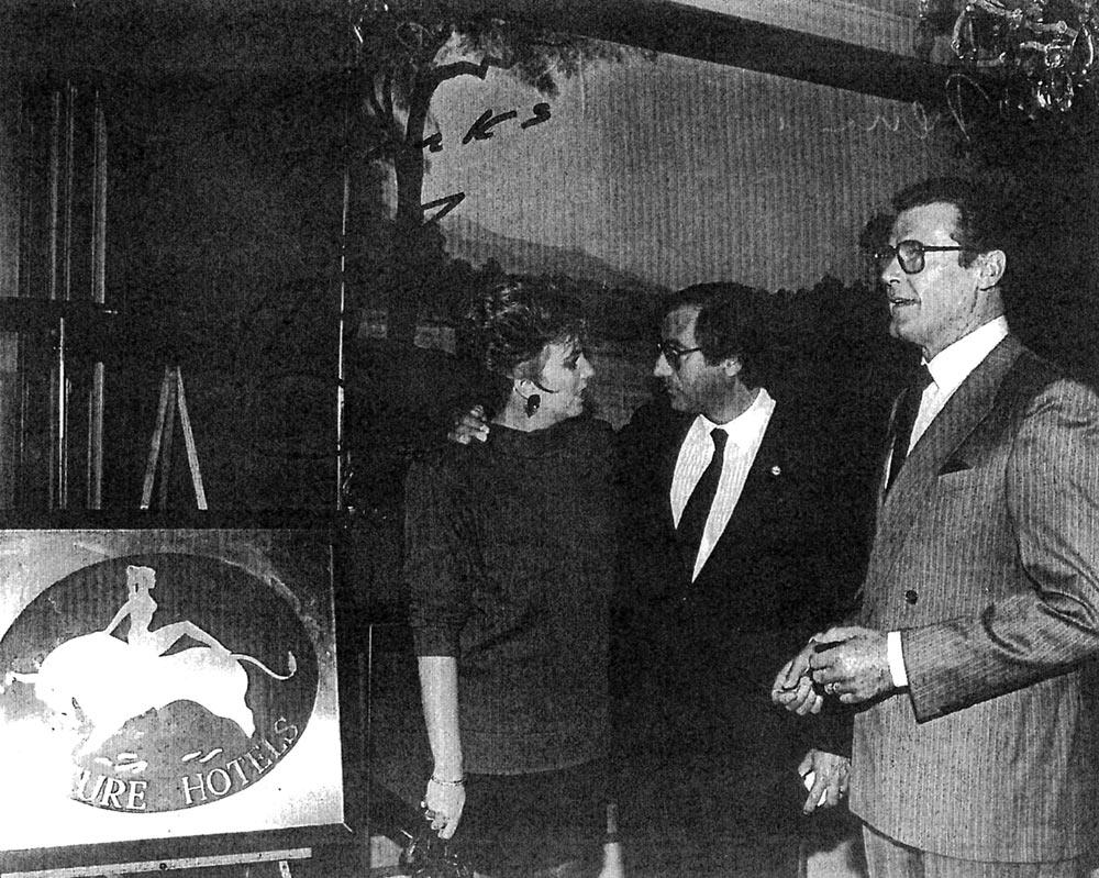 Liza Minelli und Roger More