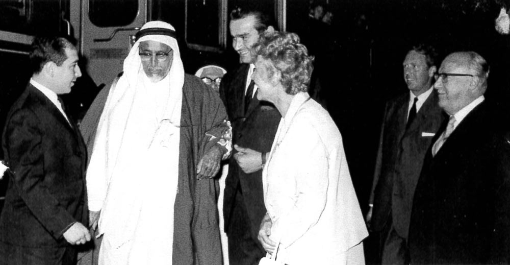 Shaikh Ali bin Abdullah Al-Thani von Qatar