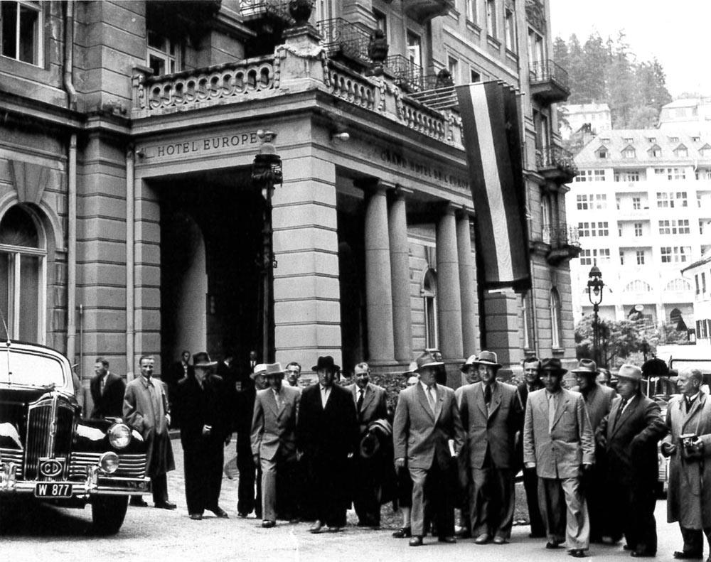 Abordnung des Obersten Sowjet im Juni 1956