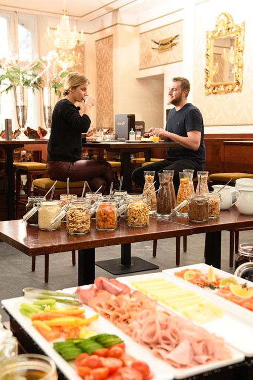 Frühstücksbuffet Hotel de l'Europe Bad Gastein