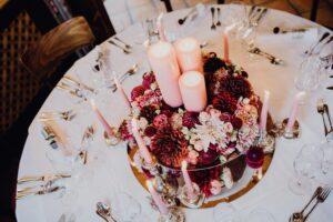Brauttisch im Hotel de l'Europe in Bad Gastein