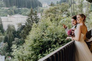 Hochzeitspäarchen in Bad Gastein