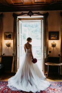 Braut kurz vor Hochzeit in Bad Gastein