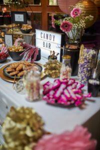 Hochzeits-Candybar